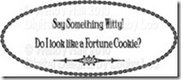 Marlooney Fortune Cookie Sentiment