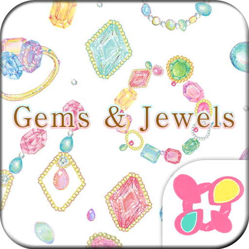 Cute Wallpaper Gems & Jewels Icon
