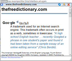 Best Dictionary Tooltip extensions for Web Browsers