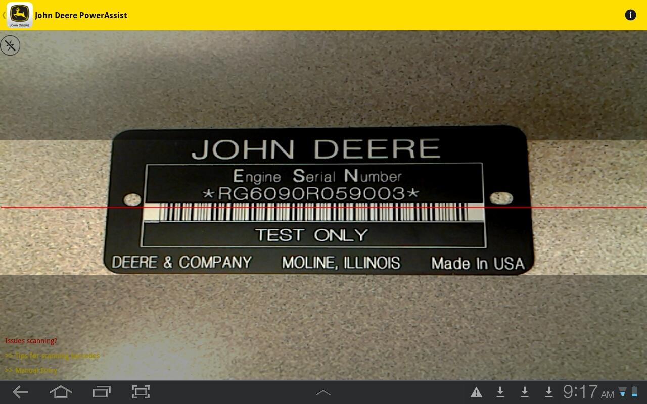 John Deere PowerAssist - screenshot