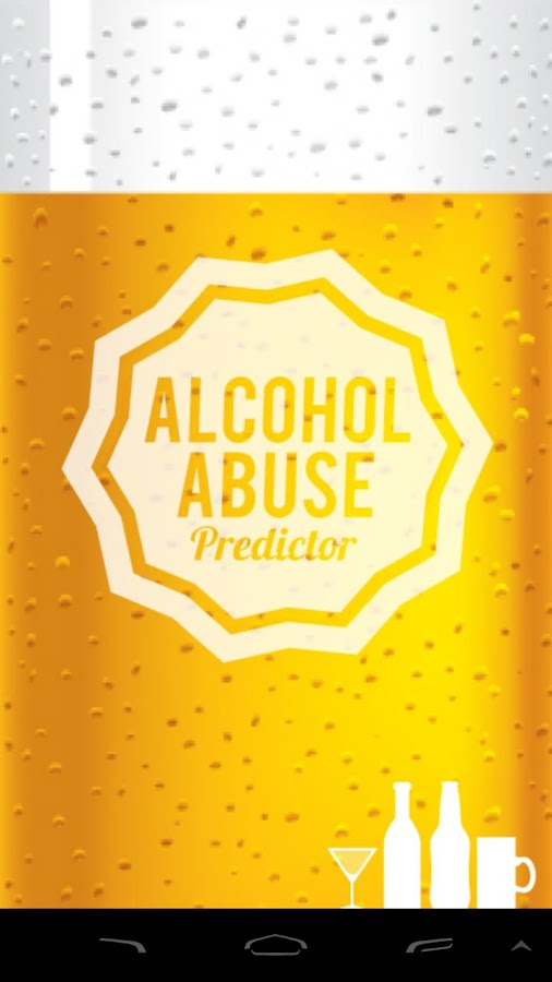 The Alcohol Abuse Predictor- screenshot