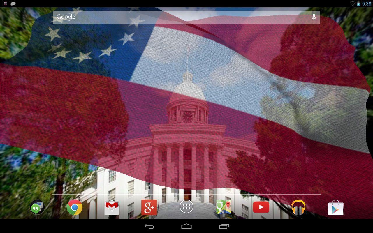 Rebel Flag Live Wallpaper - screenshot