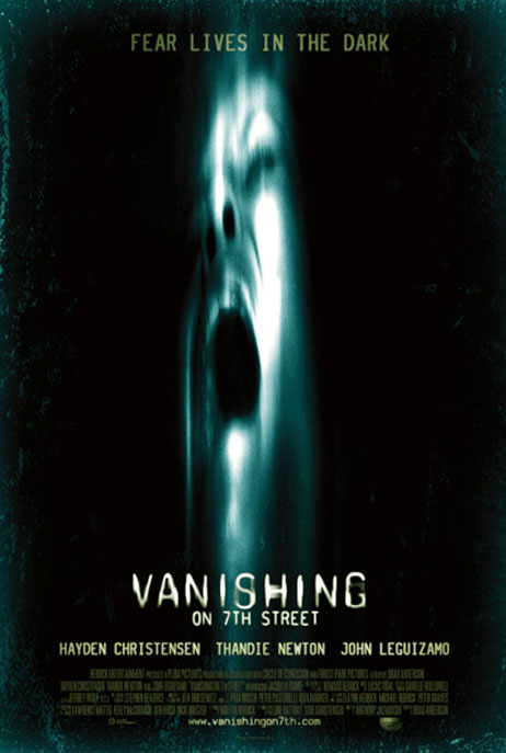 Vanishing on 7th Street, movie, poster, new