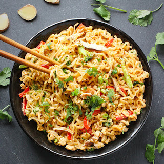 Fried Ramen Noodles Recipes.