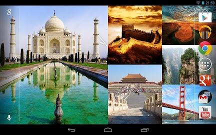 Photo Wall FX Live Wallpaper Screenshot 9