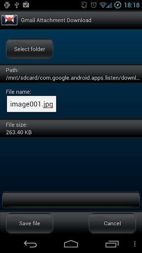 [Thủ thuật] Cách tải file đính kèm trong Gmail trên Android