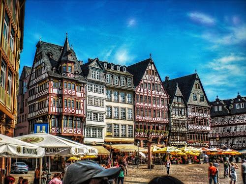 Frankfurt by Andrea Conti - City,  Street & Park  Historic Districts ( frankfurt, houses, germany, square, francoforte, district, historic, romerberg, city )