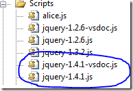 Visual Studio Intellisense (vsdoc) for jQuery 1.4.1 now available