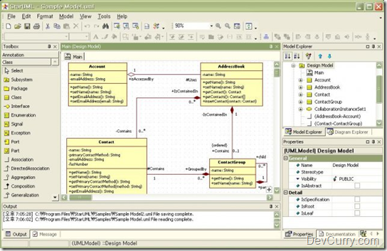 Devcurry Free Open Source Uml Tools
