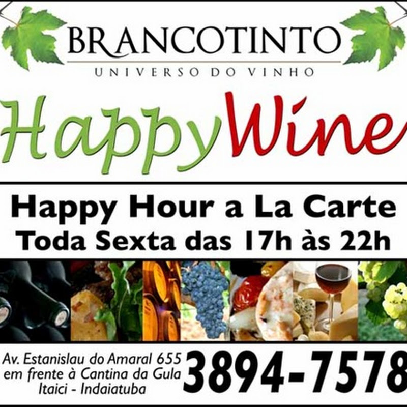 Happy Wine na BrancoTinto