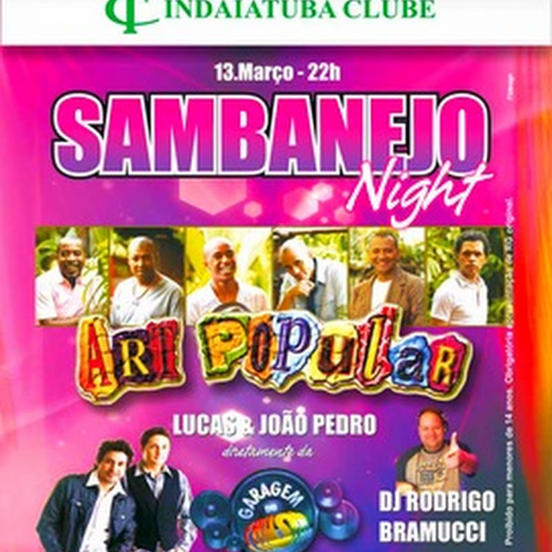 Sambanejo Night do Indaiá
