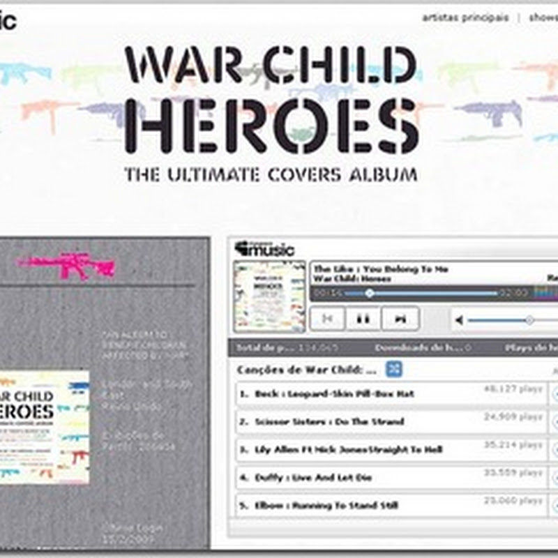 War Child: Heroes no MySpace