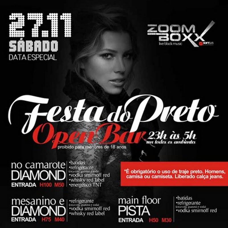 Festa do Preto na Zoff Club