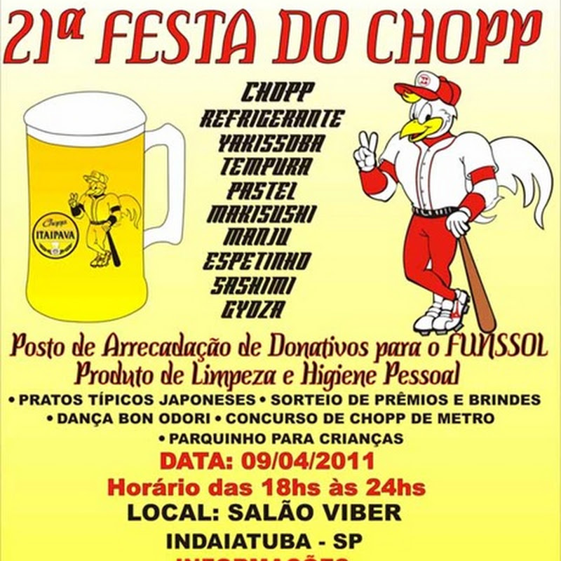 21ª Festa do Chopp da Acenbi