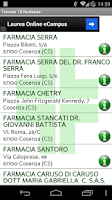 Screenshot of Cerca Farmacia