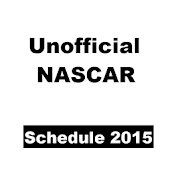 Unofficial Nascar Schedule