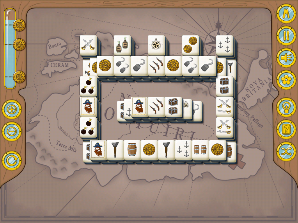 Pirate Mahjong HD- screenshot