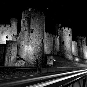 Night Watch by Don Cardy - Black & White Buildings & Architecture (  )