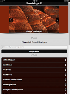 850 Flavorful Bread Recipes- screenshot thumbnail