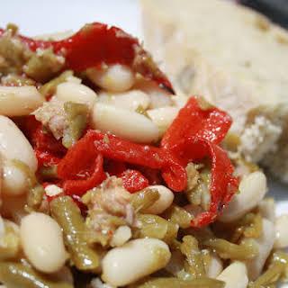 Navy Bean Salad.