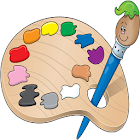 涂料为孩子 icon