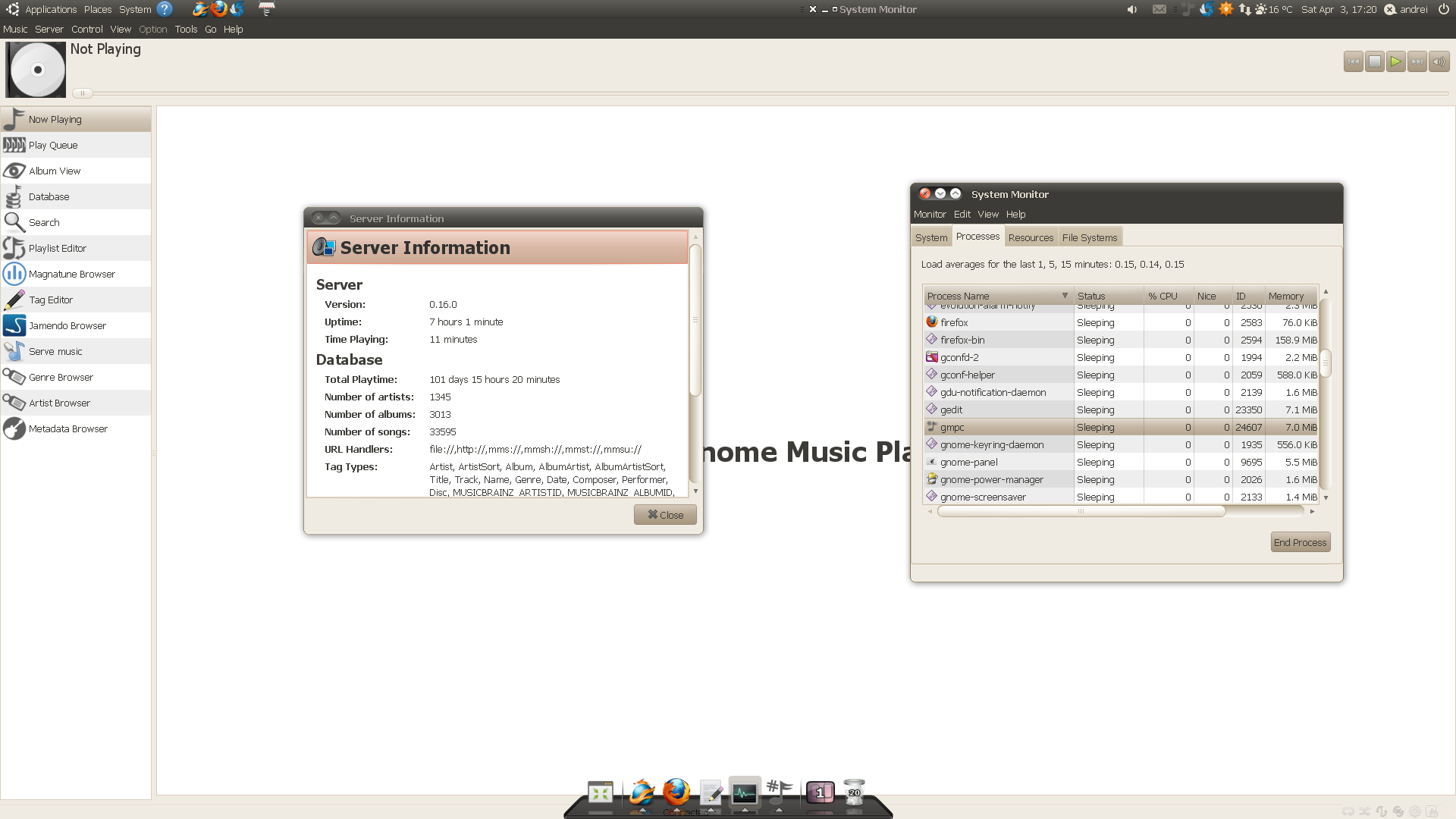 Gnome Music Player Client (GMPC) 0 20 Released ~ Web Upd8