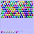 Bubble Shooter: Atire as bolinhas combinando as cores