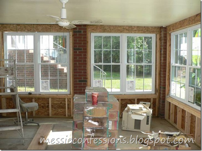 Sunroom (Exterior Walls) - Framing