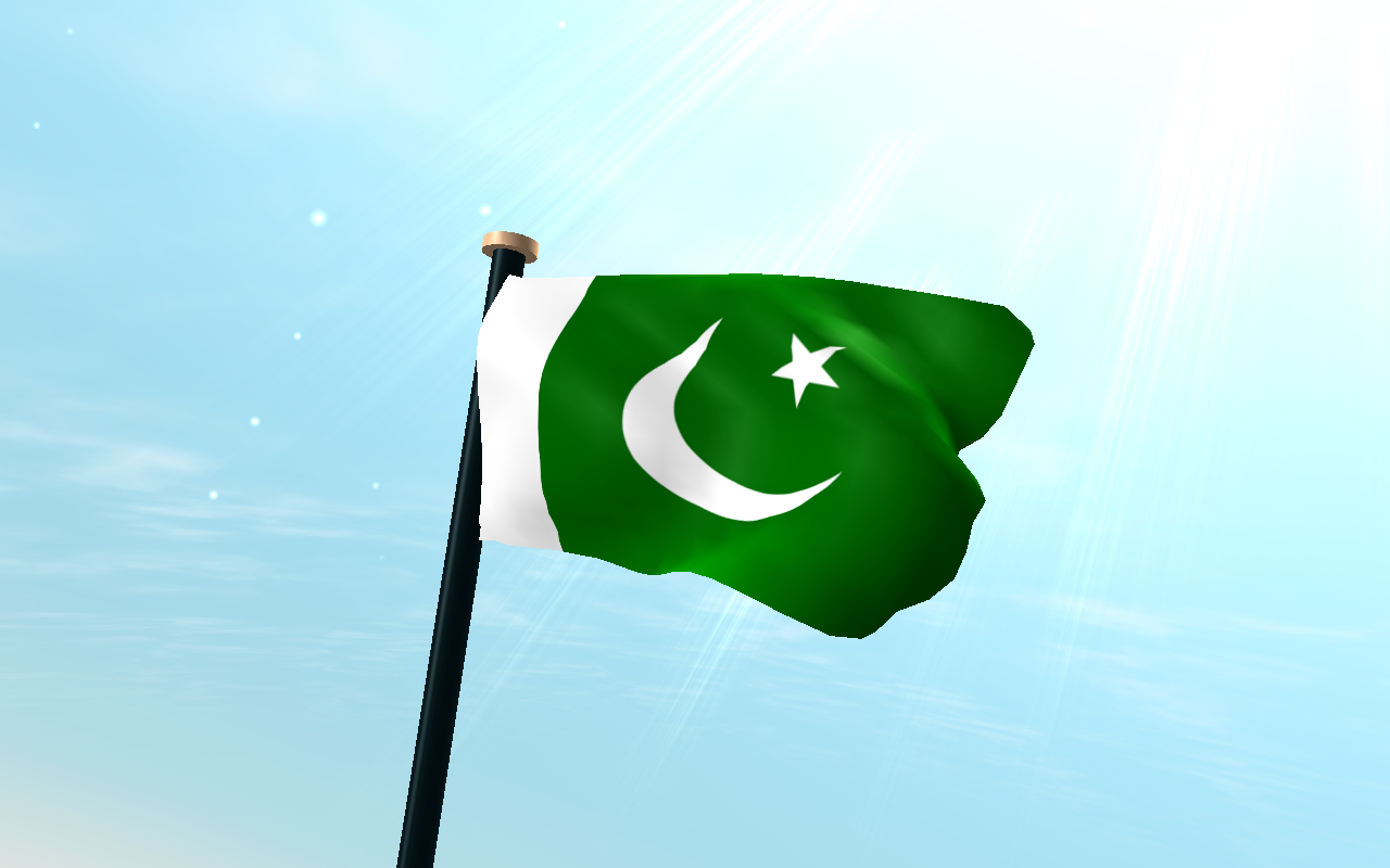 Pakistan Flag Waving Wallpaper Pakistan Flag 3d Wallpaper