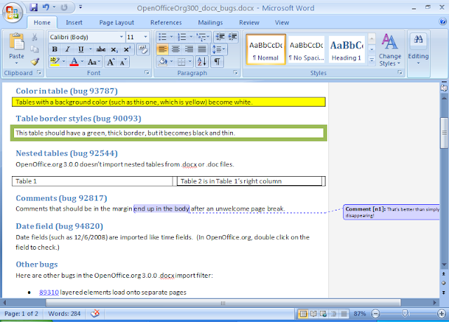 A Better Office  docx Converter - OpenOffice org Ninja