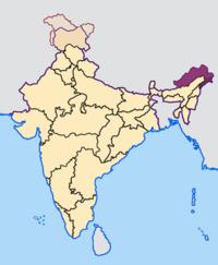 印度占领中国藏西南的领土