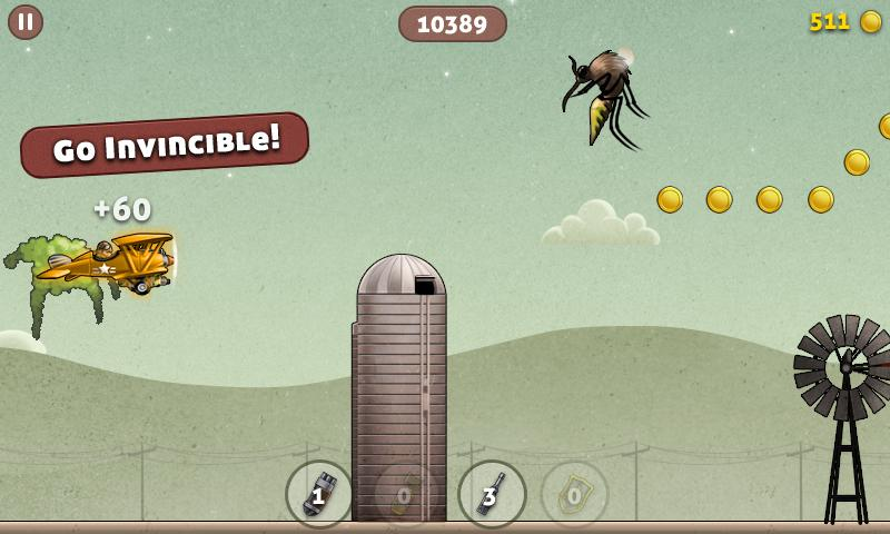 Bugduster - Flying Game- screenshot