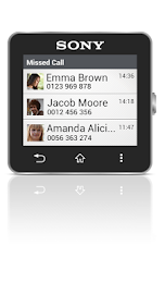 Missed Call smart extension Screenshot 1