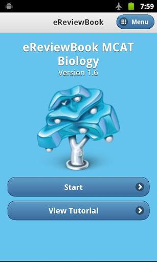 eReviewBook MCAT Biology