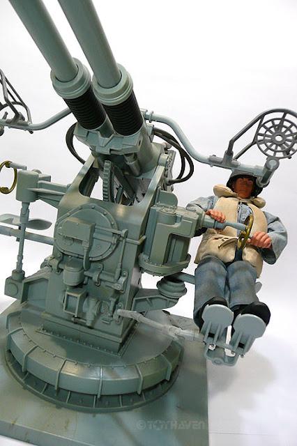 toyhaven: G I  Joe 1/6 Navy Gunner with Twin Mount Anti