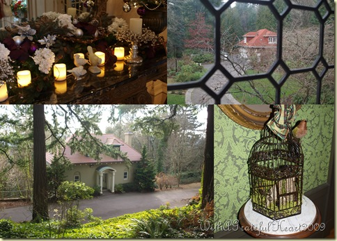 Pittock Mansion - Collage4
