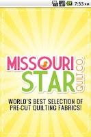 Screenshot of Missouri Star Quilt Company