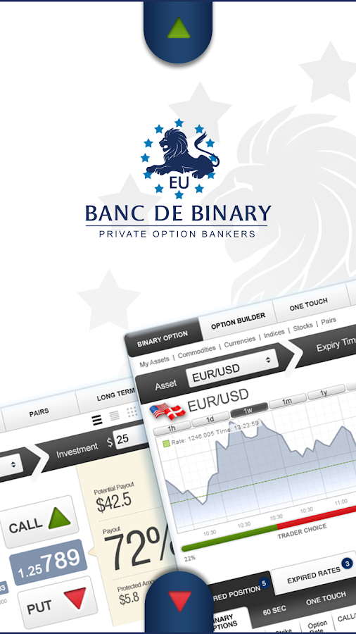 Banc De Binary EU - screenshot