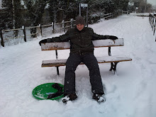 Me in the snow in Hertford