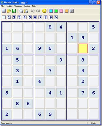 Programma per creare sudoku da stampare e giocare for Sudoku facile da stampare