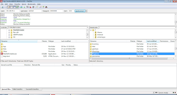 WiFi Pro FTP Server Screenshot