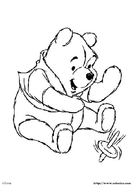 Colorea A Winnie Pooh Y Sus Amigoslaminas Para Pintar