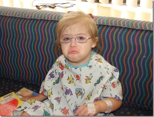 ... Life: Time to go home [Down syndrome, tonsillectomy, adenoid, surgery