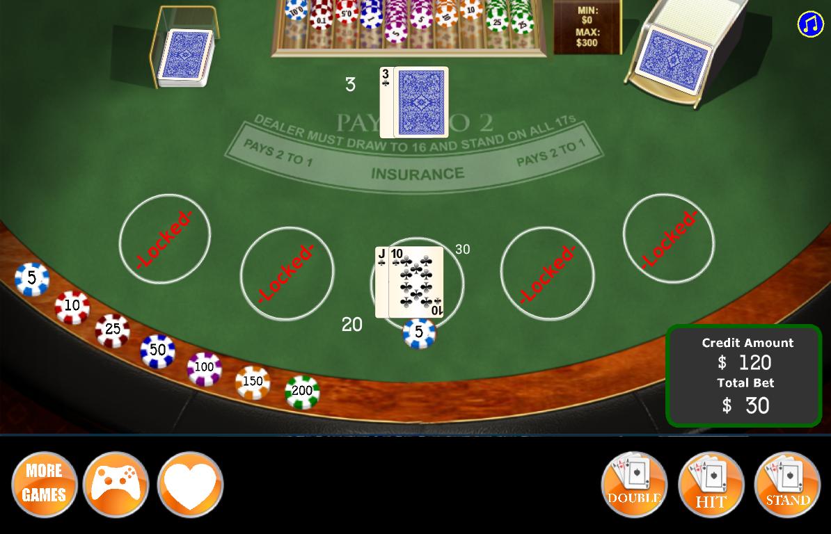 Blackjack split queens