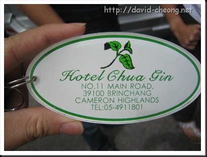 Hotel Chua Yin, Cameron Highlands