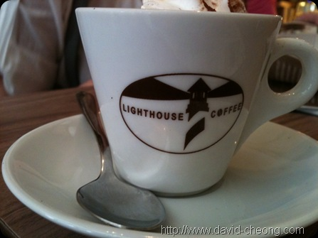 lighthouse coffee mocha