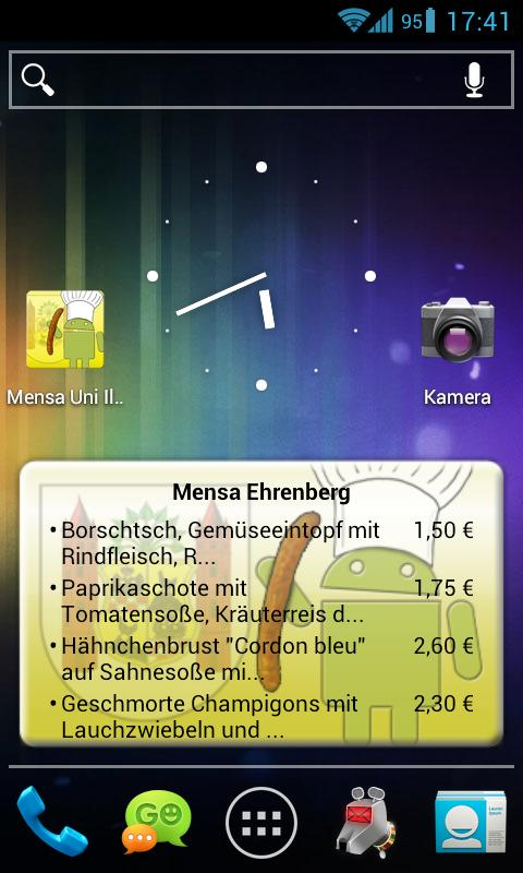 Mensa Ilmenau - screenshot