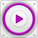PlayerPro Cloudy Magenta Skin icon