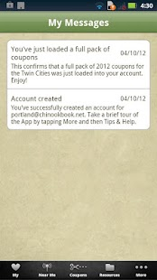 Chinook Book - screenshot thumbnail