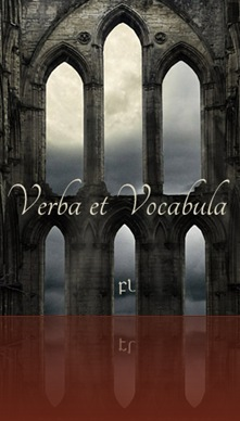 Verba et Vocabula Cover